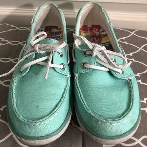 Rock & Candy Teal Loafers